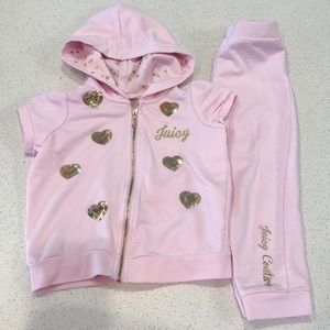 Juicy Couture jogging outfit